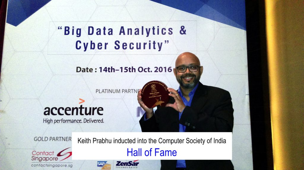 Keith Prabhu - Hall of Fame